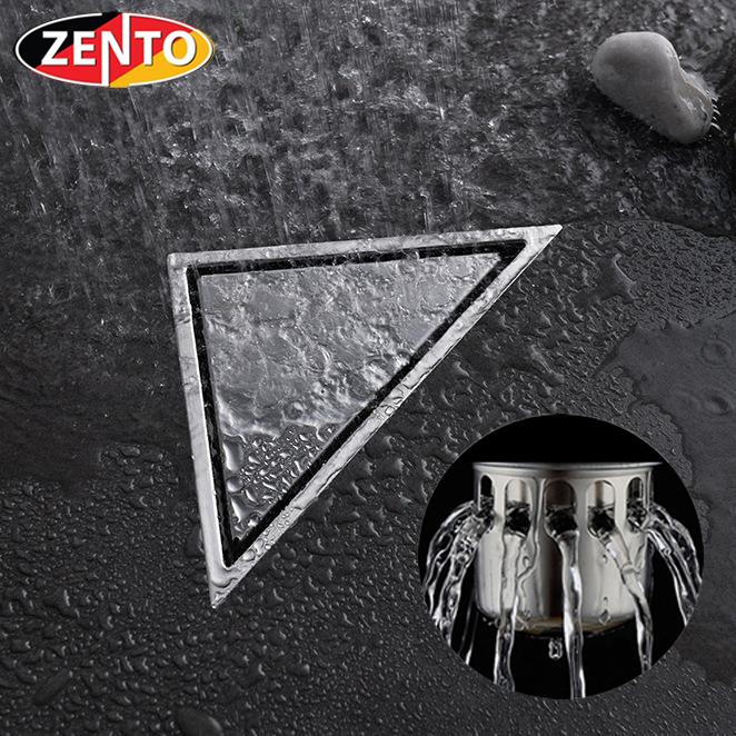 Phễu thoát sàn chống mùi, côn trùng Zento ZT555-2U (165x230mm)