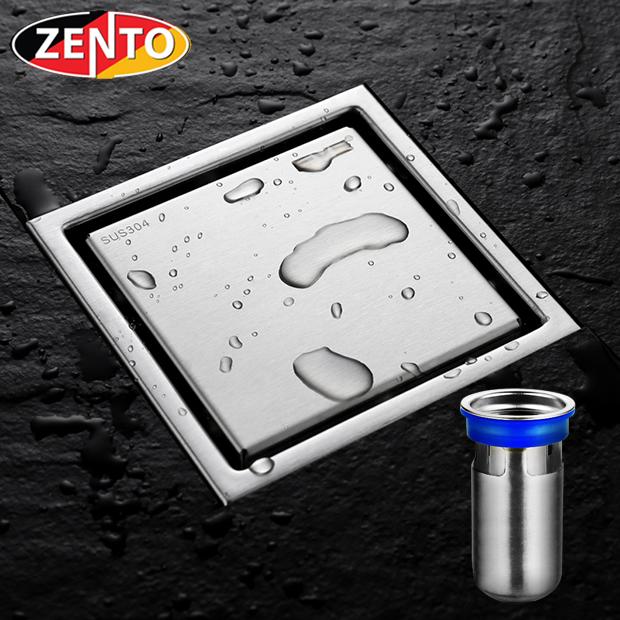 Thoát sàn chống mùi, côn trùng inox304 Zento ZT556 (11x11cm)