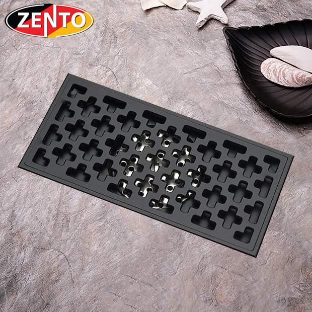 Thoát sàn chống mùi và côn trùng Z-line Zento ZT599-1B (100x200mm)