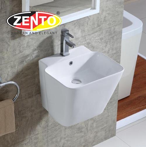 Chậu lavabo treo tường Luxury Zento LV500P (6500)