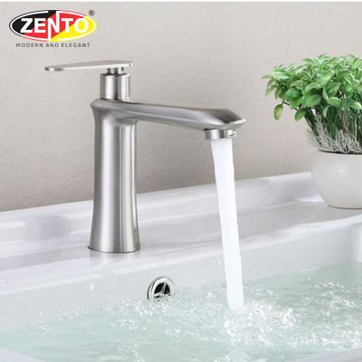 Vòi lavabo lạnh inox304 SUS2100 (D42mm)