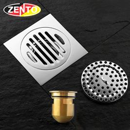 Phễu thoát sàn chống mùi hôi Zento ZT559-1Pro (120x120mm)