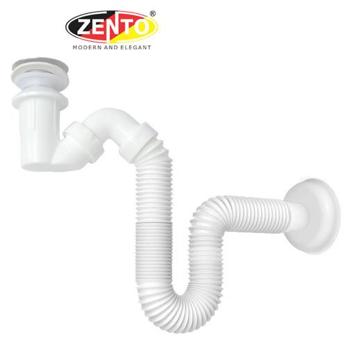 Bộ xi phông & ống xả mềm lavabo ZXP028-W