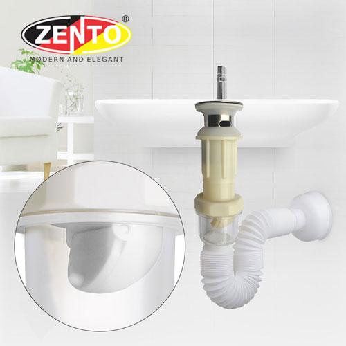 Bộ xi phông & ống xả mềm Zento ZXP029-Brushed