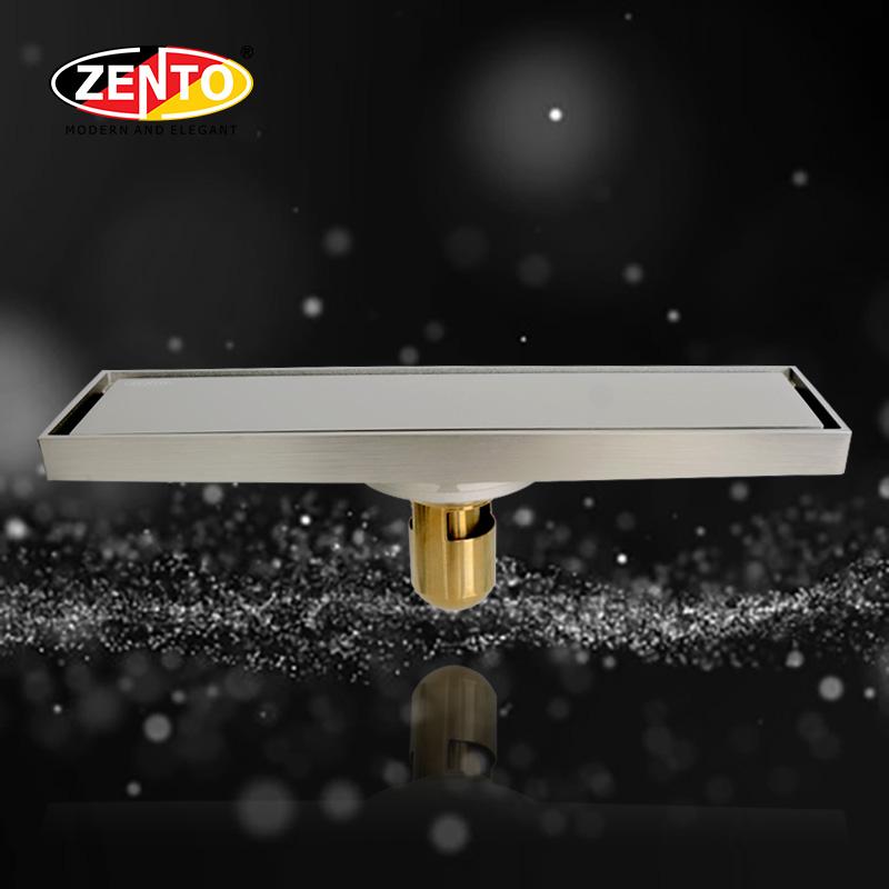 Thoát sàn chống mùi & côn trùng E-line ZT585-30Brushed (83x300mm)