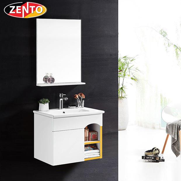 Bộ tủ, chậu, kệ gương Lavabo Zento ZT-LV962