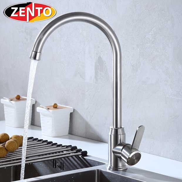 Vòi rửa bát nóng lạnh inox304 SUS5572-1