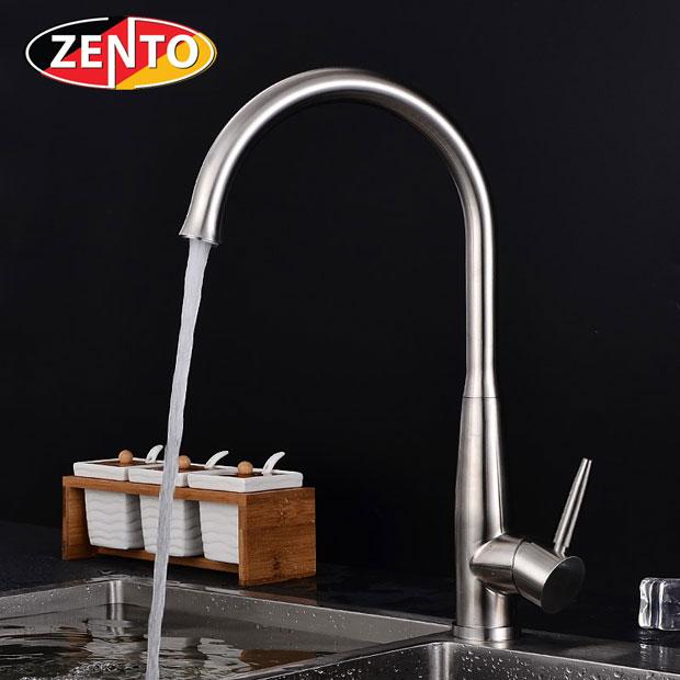 Vòi rửa bát nóng lạnh inox304 Zento SUS5576