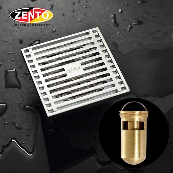 Phễu thoát sàn chống mùi & côn trùng ZT525 (100x100mm)